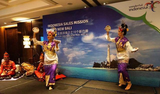 """印尼面向中国游客推出10个""""新巴厘岛"""""""