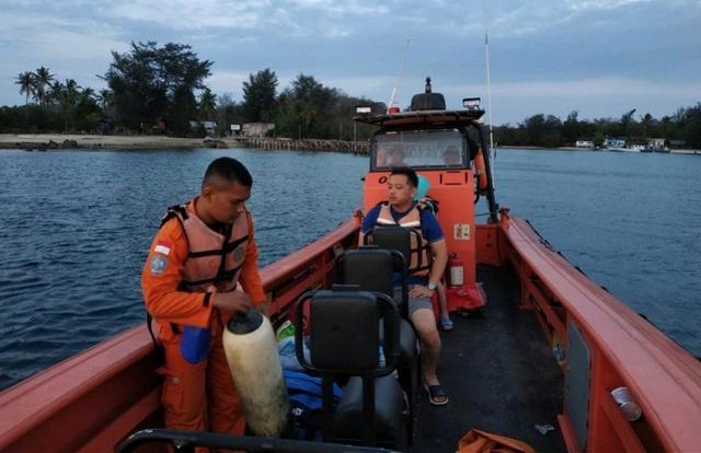 7天搜救将结束仍无踪迹!两名中国游客印尼潜水失踪或被暗流冲走