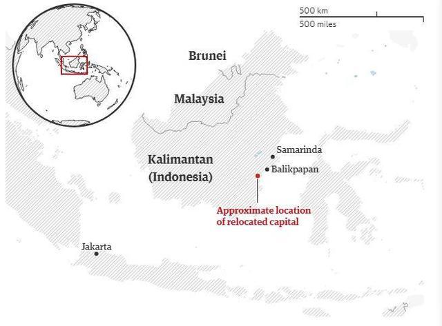 印尼成首个因地陷迁都的国家,会有城市步雅加达后尘?