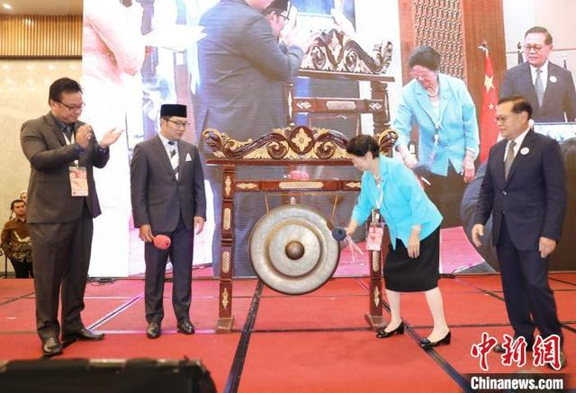 第十二届中国-东盟民间友好大会在印尼万隆举行(图)