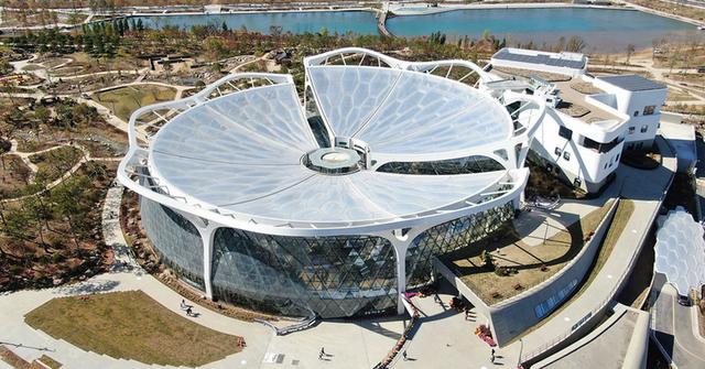 试运营 6 个月之后,韩国最大植物园正式对外开放