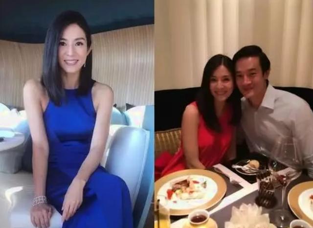45岁杨采妮定居新加坡,嫁富商结婚6年,晒双胞胎近照太幸福