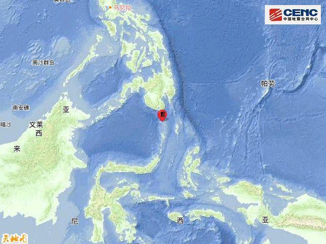印尼塔劳群岛发生5.0级地震