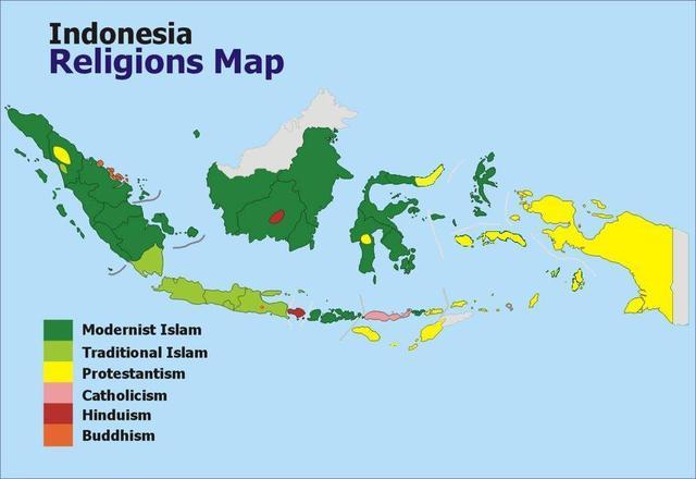 在穆斯林大国印尼,两个村庄禁止基督徒在家里过圣诞