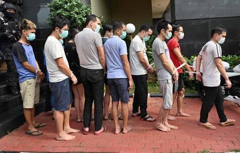 印尼警方逮捕85名中国公民,涉嫌参与跨国电信网络诈骗