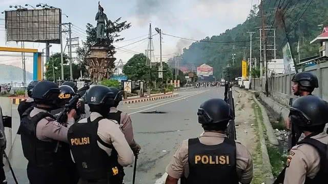 印尼巴布亚警方发起年度安全行动,罕见逮捕7名涉恐嫌疑人