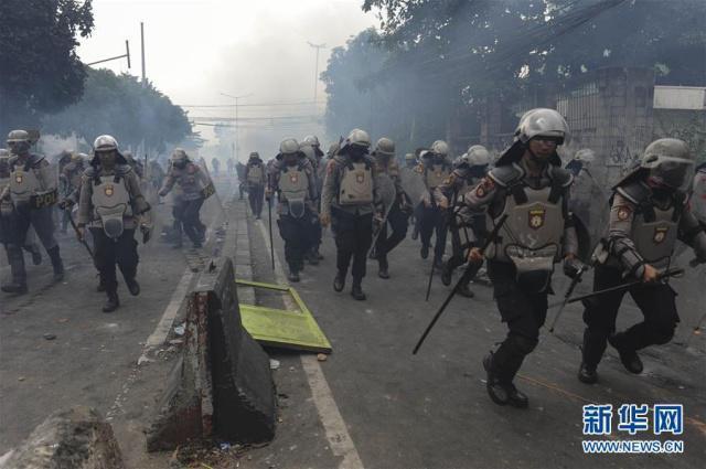 印尼发生大规模骚乱,华人成示威者威胁对象,使馆发文提醒