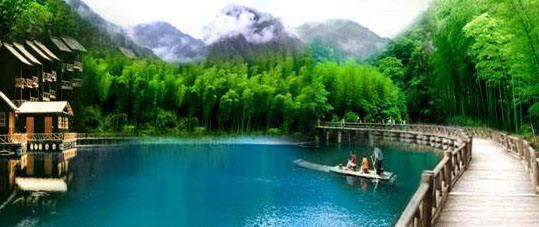 """藏在安徽深山的""""小九寨"""":美景堪比5A景区,游客:太美了"""