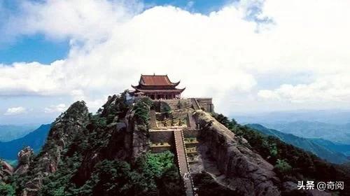 中国道教四大名山