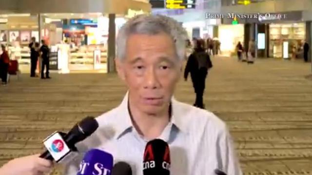 """新加坡总理李显龙:受新冠疫情冲击,新加坡经济陷入衰退是""""可能的"""""""