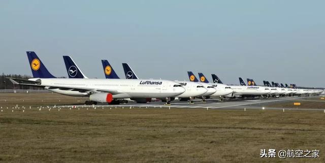 全球航空公司大停航,那么多客机放在哪?