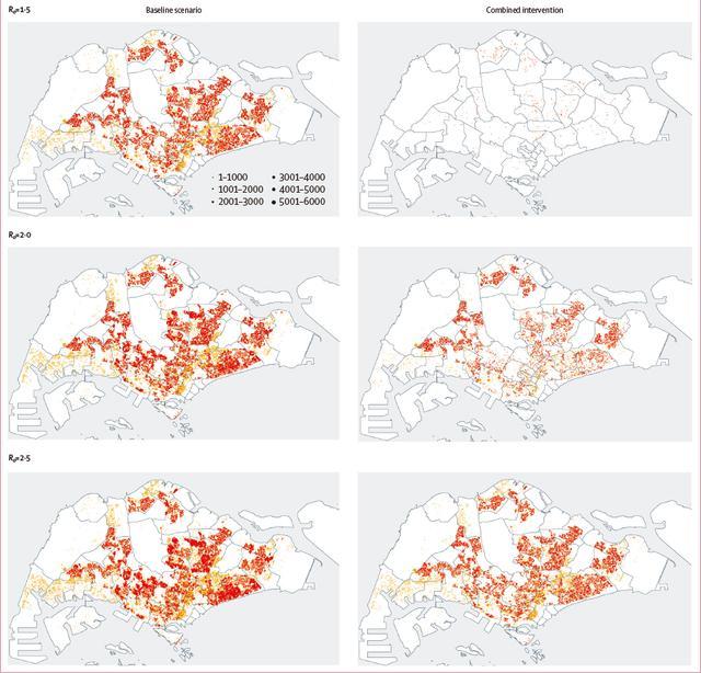 隔离多重要?柳叶刀建模分析新加坡:新冠患者因此少约95%