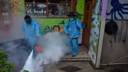 印尼中爪哇地区暴发登革热 致至少40人死亡