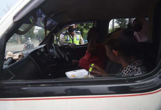 印尼实施大规模社交限制措施