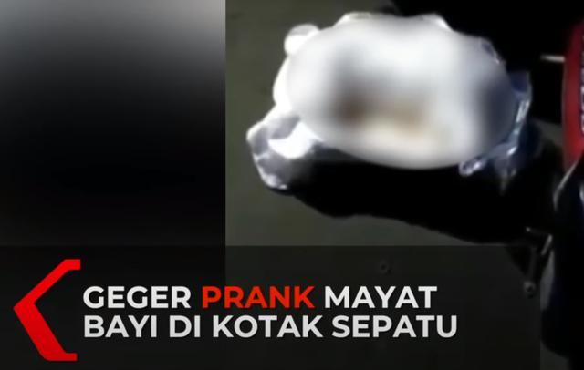 """印尼2名神秘男子给路人女""""送鞋""""迅速离开,鞋盒内竟是一具死婴"""