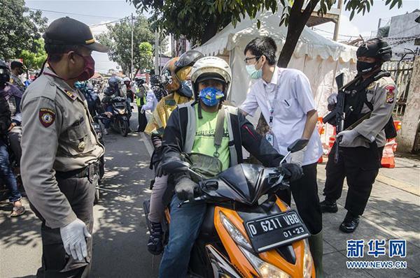 新冠确诊数比月初翻两番,2亿多人口的印尼会成下个暴发点吗