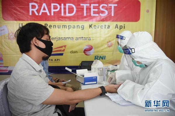 印尼新冠肺炎确诊病例已超10万例