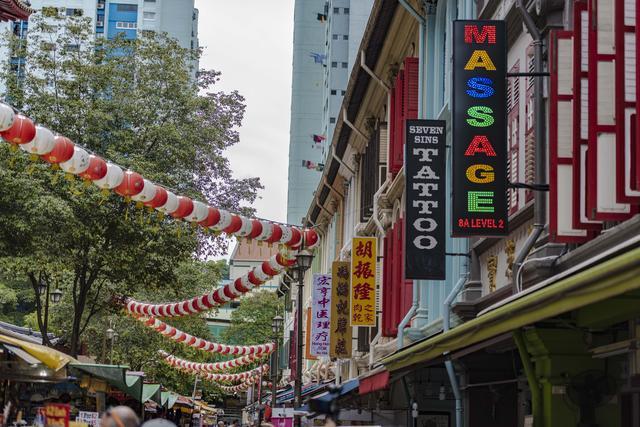 新加坡还有唐人街?没错,名字叫牛车水
