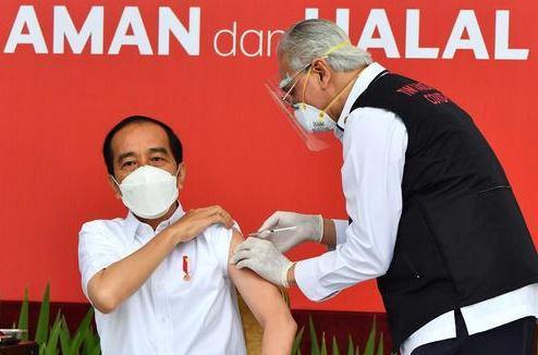 """中国疫苗""""遍地开花""""!印尼官宣一重大消息,总统第一个接种疫苗"""