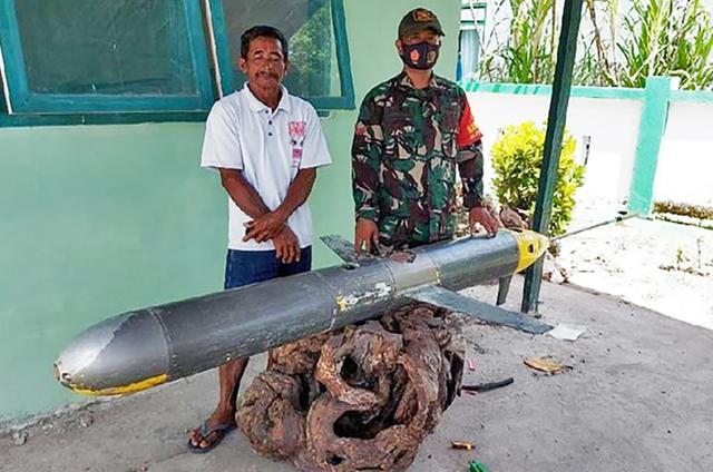 张口就来!印尼渔民捞到深海UUV,美国一口咬定是中国产