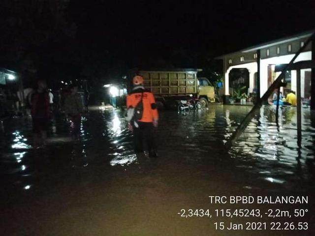 印尼南加里曼丹洪水继续肆虐 上万人受影响
