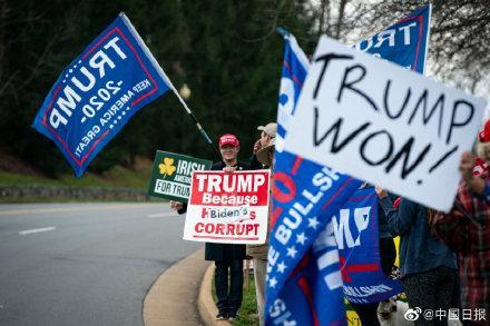"""特朗普宣布参加""""反对大选舞弊""""游行 美国国民卫队将参与安保工作"""