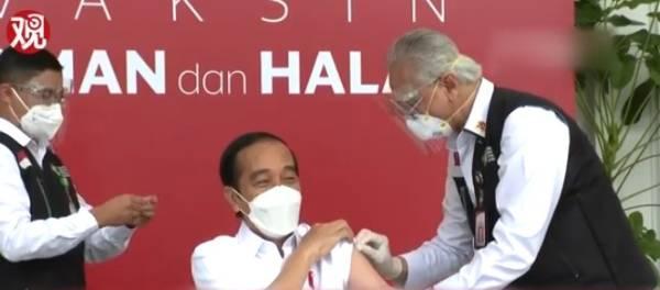 总统直播接种,中国新冠疫苗对印尼抗疫有多重要?