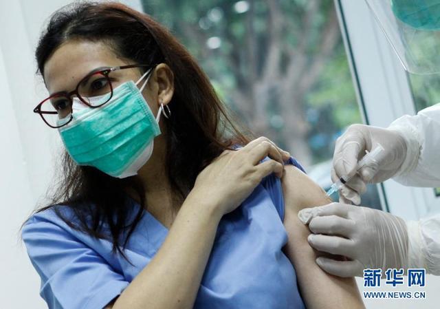 印尼开始大规模接种新冠疫苗