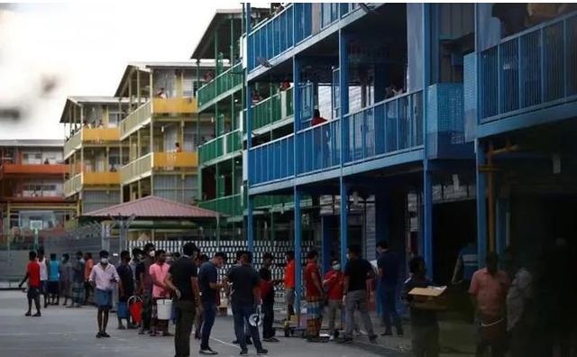 新增38例!新加坡时隔一个月再现客工宿舍感染病例