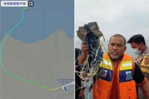 印尼一波音客机坠毁!印尼交通部长:飞机未按既定航向飞行
