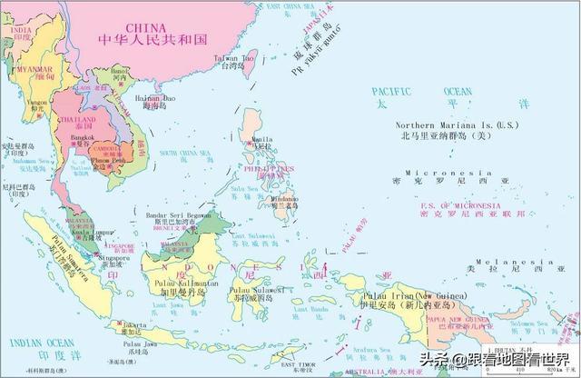 从印尼角度看世界:花了200年才完成统一,却是东南亚经济重镇