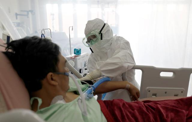 印尼新冠累计确诊人数超百万