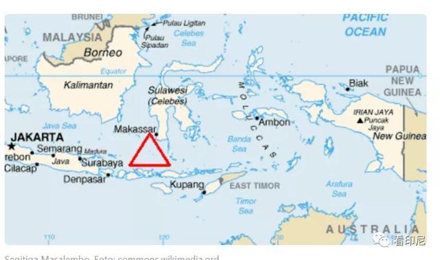 """印尼也有""""百慕大""""三角?"""