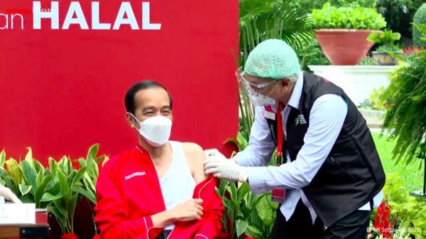 印尼总统接种第二剂中国疫苗:没啥感觉