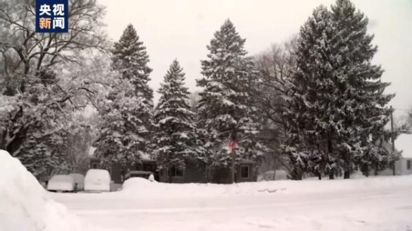 冬季风暴肆虐美国多州 已致26人死亡 部分家庭断电达30小时