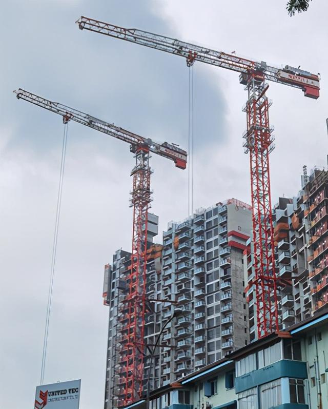 中联重科高效助建全球最高预制住宅项目 塔机定制设计走俏新加坡