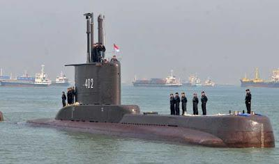 印尼一艘潜艇,居然失踪了!下潜后立刻失去联系,53人凶多吉少