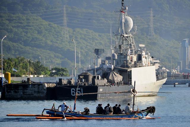 印尼潜艇沉没,多国参与救援