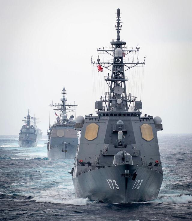 竟敢打南海牌!日本拉拢印尼,两国将在南海举行联合军事训练