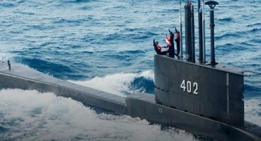 印尼军方宣布失联潜艇已沉没 美媒:850米水下深度说明船员生还可能性几乎没有