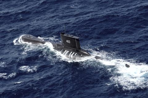 外媒:印尼找到失踪潜艇 53名船员已经死亡