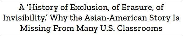 《时代》杂志:美国不教完整的亚裔历史,因为害怕帝国主义行径被揭露