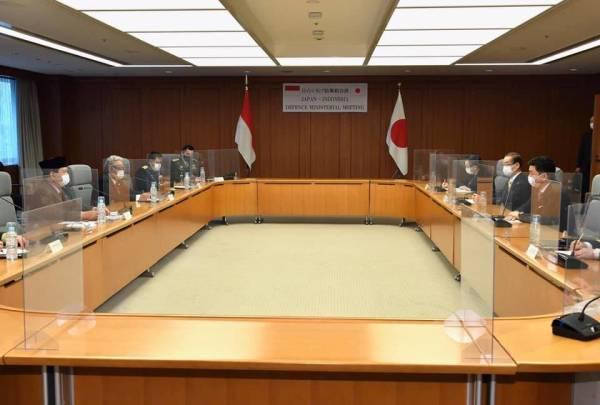 针对中国,日本和印尼加强军事合作