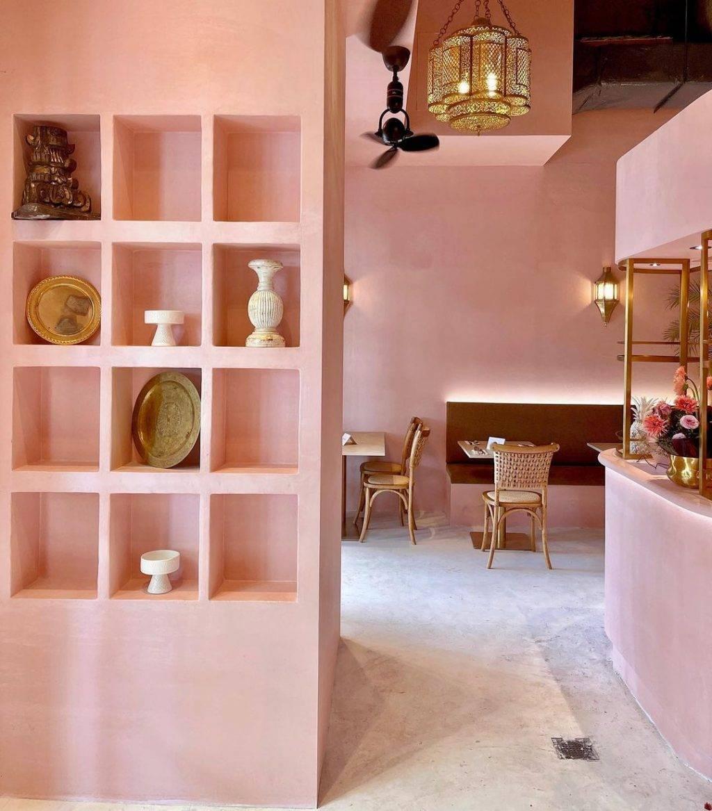 摩洛哥风格、粉红咖啡馆La Fez Bakery & Cafe💘置身马拉喀什街头、栽进粉嫩王国里✨