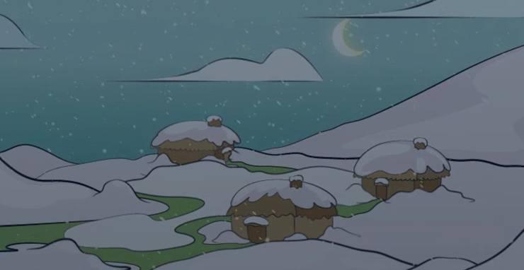 卡其说冬至,全家团圆吃汤圆