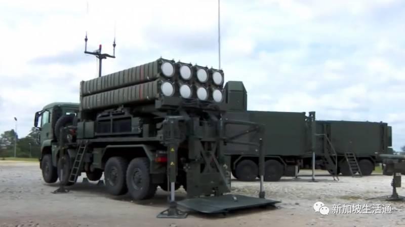 新加坡军方新增陆基导弹 提升远程打击能力