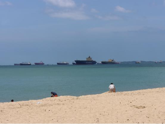 新华财经记者在新加坡:新加坡港口正打造环环相扣的生态系统