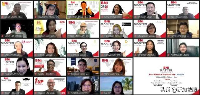 新加坡BNI,连接全球华商,拓展你的事业版图