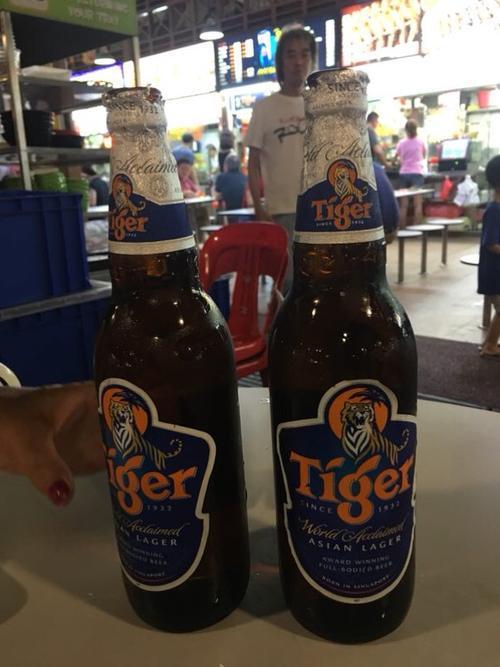 走近新加坡 喝酒