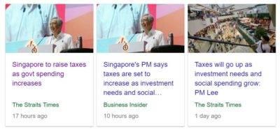 李总理:国家支出提高 增税是迟早的事
